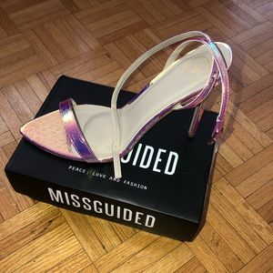 BRAND NEW Misguided heels